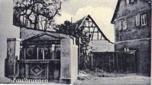 Sossenheimer Faulbrunnen