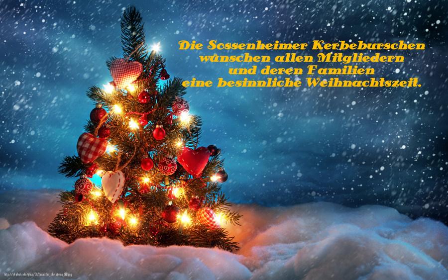Frohe Weihnachten und einen guten Start in 2016! – Sossenheimer ...